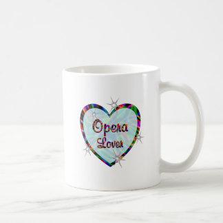 Opera Lover Classic White Coffee Mug