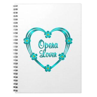 Opera Lover Notebook