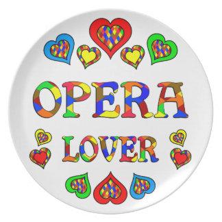 Opera Lover Dinner Plates