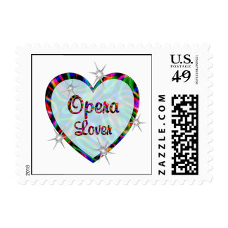 Opera Lover Stamps