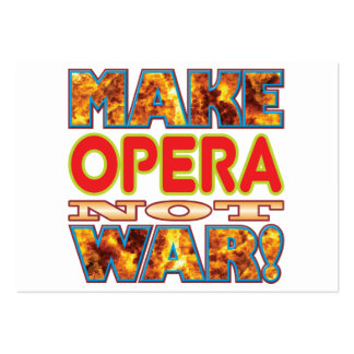 Opera Make X Large Business Cards (Pack Of 100)