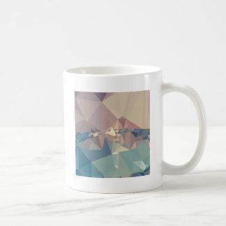 Opera Mauve Abstract Low Polygon Background Classic White Coffee Mug
