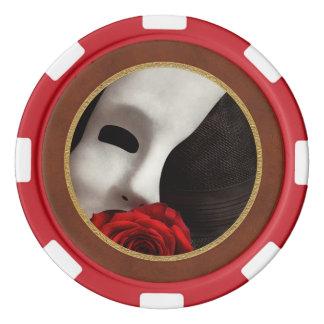 Ópera - misterio y la ópera juego de fichas de póquer