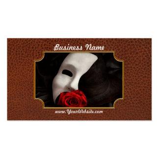 Ópera - misterio y la ópera plantillas de tarjetas de visita