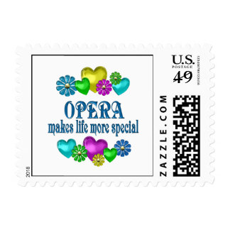 Opera More Special Postage Stamp