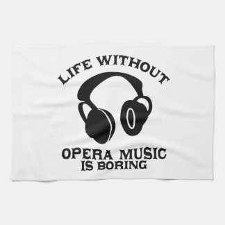 Opera Music designs Hand Towels