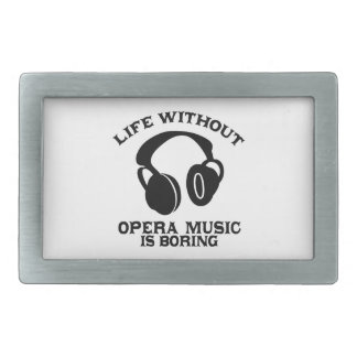 Opera Music designs Rectangular Belt Buckle