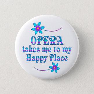 Opera My Happy Place Pinback Button