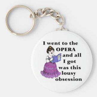 Opera Obsession Keychain