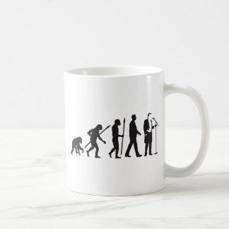 Opera of singer evolution OF one Coffee Mug