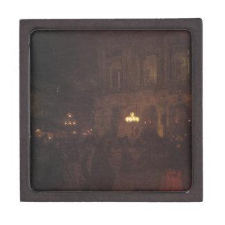 Opera paryska w nocy by Aleksander Gierymski Gift Box