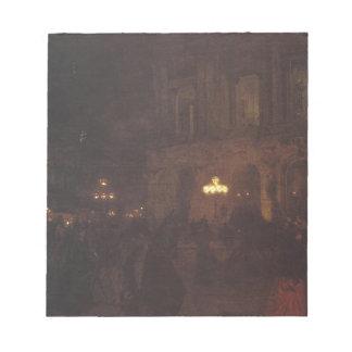 Opera paryska w nocy by Aleksander Gierymski Notepad
