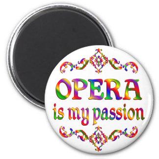 Opera Passion Fridge Magnet