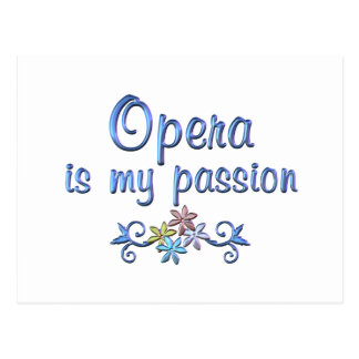 Opera Passion Postcard