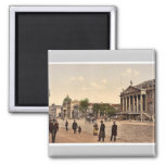 Opera Place, Berlin, Germany magnificent Photochro Refrigerator Magnets