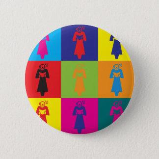 Opera Pop Art Button