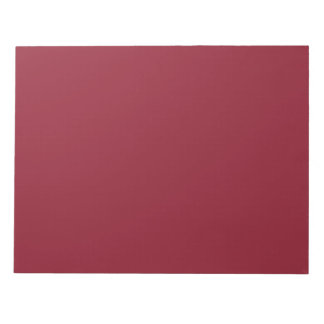 Opera Red-Ruby Crimson Red-French Chateau Wedding Notepad