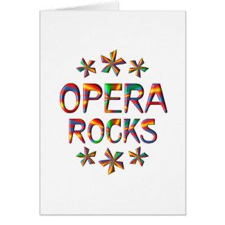 Opera Rocks Greeting Card
