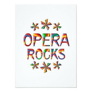 Opera Rocks 5.5x7.5 Paper Invitation Card