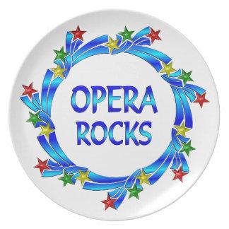 Opera Rocks Plate