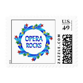 Opera Rocks Postage