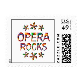 Opera Rocks Postage Stamp