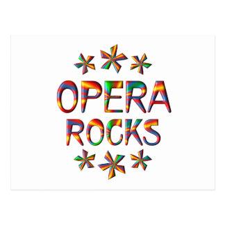 Opera Rocks Postcard