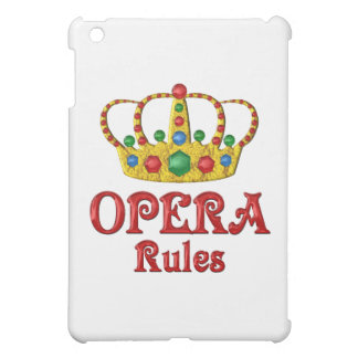 OPERA RULES iPad MINI COVERS