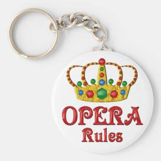 OPERA RULES KEYCHAIN