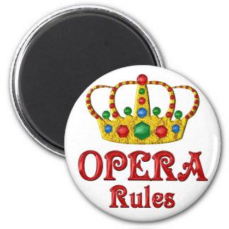 OPERA RULES MAGNET