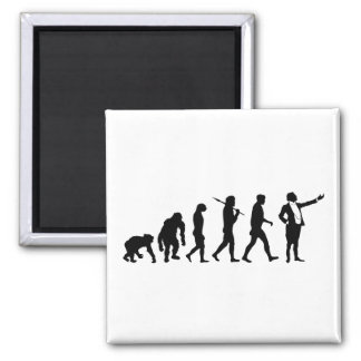 Opera singers and opera lovers singing gifts 2 inch square magnet