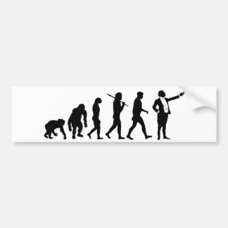 Opera singers and opera lovers singing gifts bumper sticker
