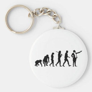 Opera singers and opera lovers singing gifts basic round button keychain