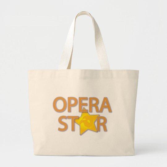 Opera Star Large Tote Bag