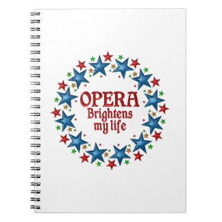 Opera Stars Notebook