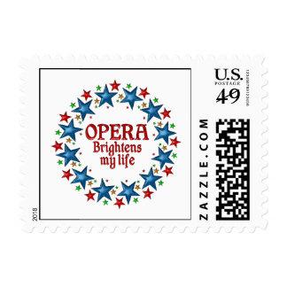 Opera Stars Postage