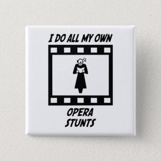 Opera Stunts Pinback Button