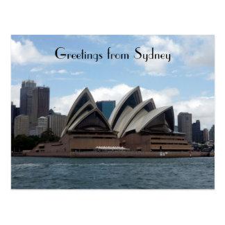 ópera Sydney Tarjetas Postales