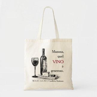 Ópera y la bolsa de asas del vino