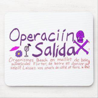 Operaciín Salida Alfombrilla De Raton