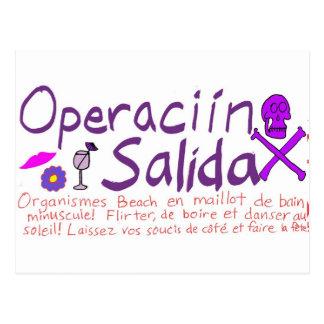 Operaciín Salida Tarjetas Postales