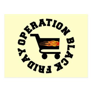 Operación viernes negro postal