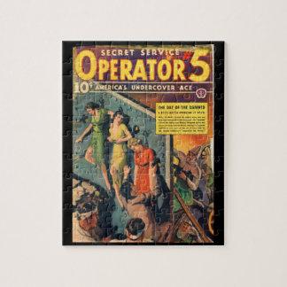 Operador 5 del servicio secreto - rompecabeza con fotos