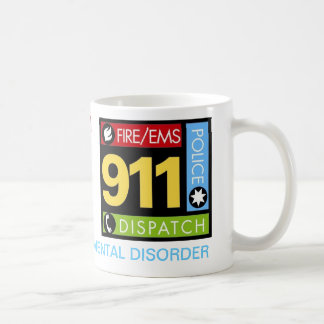 Operador 911 taza de café