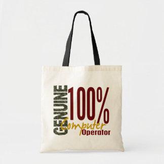 Operador auténtico bolsas
