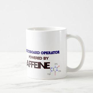 Operador de centralita telefónica accionado por el taza