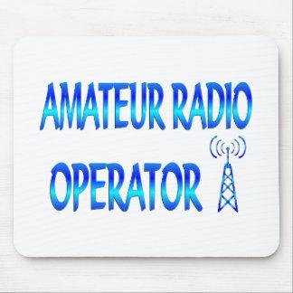 Operador de radio aficionado tapetes de ratones