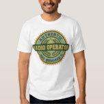 Operador de radio auténtico camisas