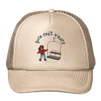 Operador del remonte gorras