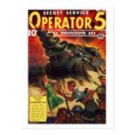 Operador del servicio secreto # postal 5